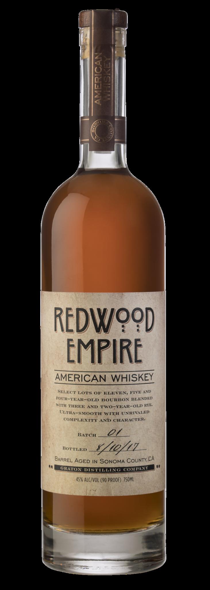 Redwood Empire American Whiskey Batch 02 750ml
