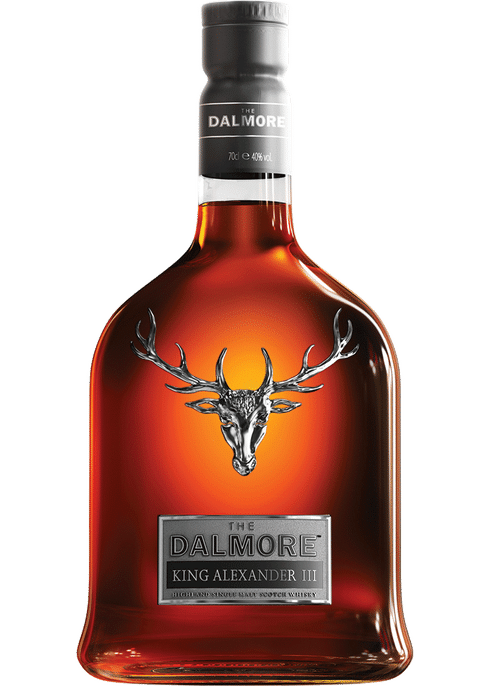 The Dalmore Highland Single Malt Scotch Whiskey King Alexander III 750ml