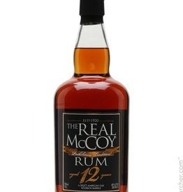 The Real McCoy Single Blended Rum Aged 12Yrs. 750ml