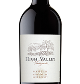 High Valley Vineyard 2017 Zinfandel Lake County 750ml