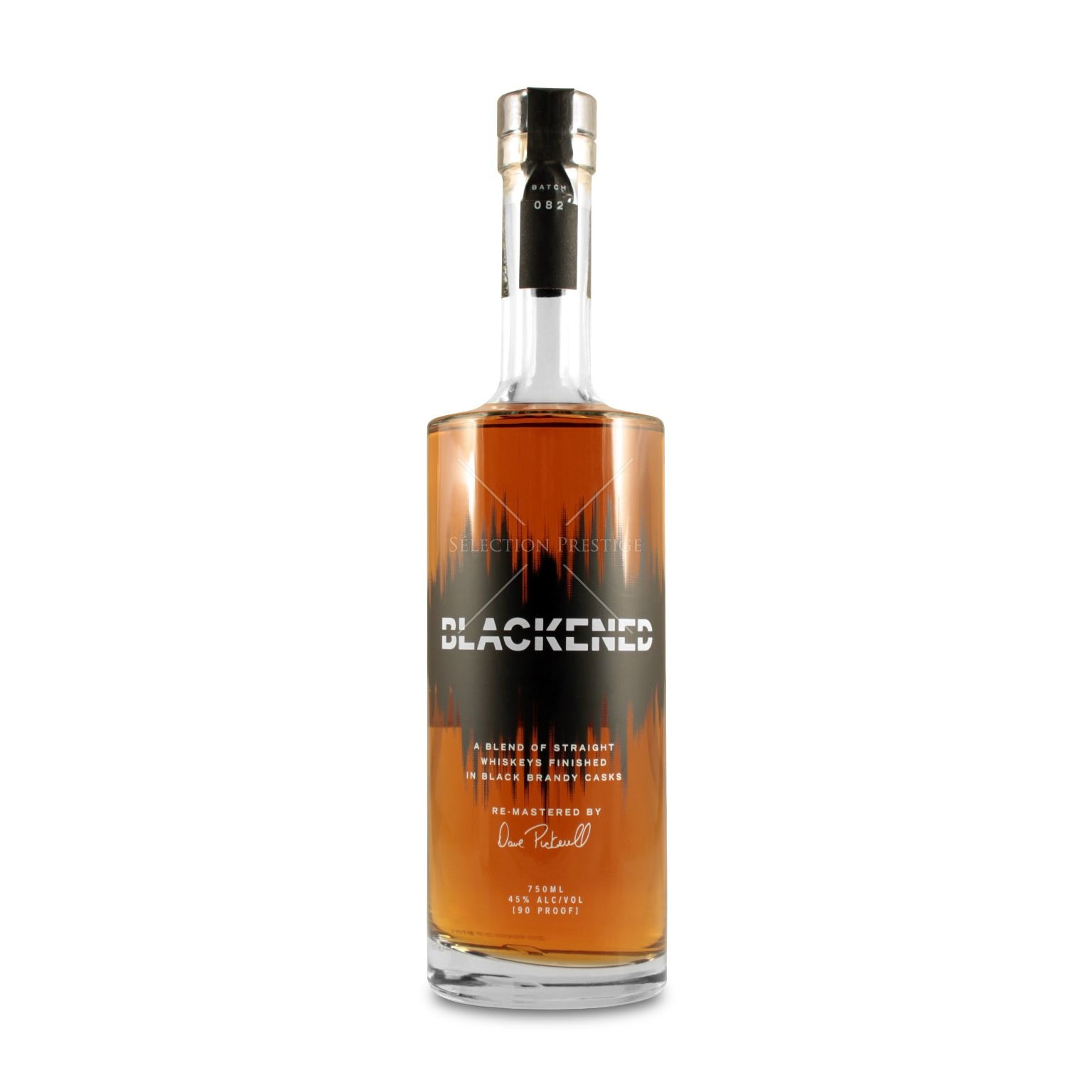 Blackened Whiskey Finished In Black Brandy Casks 750ml