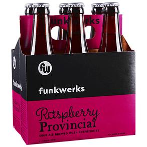 Funkwerks Raspberry Provincial Sour Ale 11.2oz 6Pk Btls