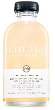 On The Rocks Premium Cocktails The Cosmopolitan 375ml