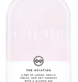On The Rocks Premium Cocktails The Aviation 200ml