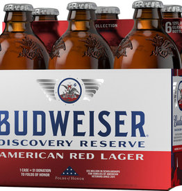 Budweiser Discovery Reserve Red Lager 12oz 6Pk