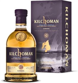 Kilchoman Islay Single Malt Scotch Whisky Sanaig Bourbon Cask Influence
