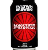 Evil Twin Sanguinem Aurantiaco Sour Ale With Blood Orange Added 12oz 4Pk Cans