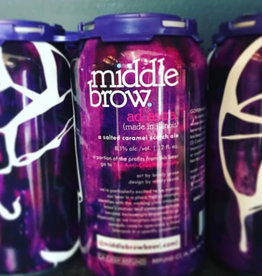 Middle Brow Ad Astra Salted Caramel Scotch Ale 12oz 4Pk Cans