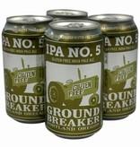 Groundbreaker Brewing & Gastropub IPA No.5 Gluten-Free Dry Hopped Ale 16oz 4Pk Cans