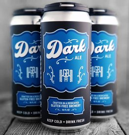 Groundbreaker Brewing & Gastropub Dark Ale Gluten-Free Ale Brewed With Lentils & Chestnuts 16oz 4Pk Cans