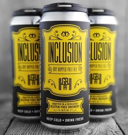 Groundbreaker Brewing & Gastropub Inclusion Gluten-Free Dry Hopped Pale Ale 16oz 4Pk Cans