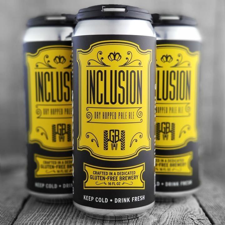 Groundbreaker Brewing & Gastropub Inclusion Gluten-Free Dry Hopped Pale Ale 16oz 4Pk Cans