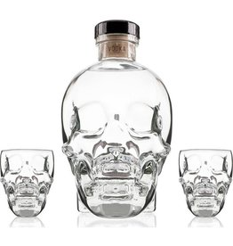 Crystal Head Vodka Shot Glass Gift Set 750ml