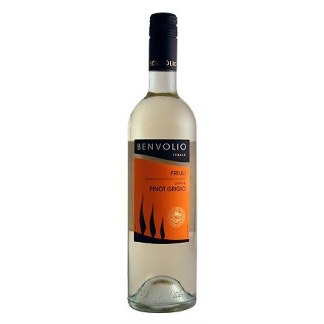 Benvolio Pinot Grigio 2017 Friuli 750ml