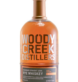 Woody Creek Straight Rye Whiskey 750ml