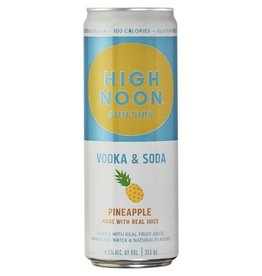 High Noon Sun Sips Pineapple Vodka & Soda 12oz 4Pk Cans