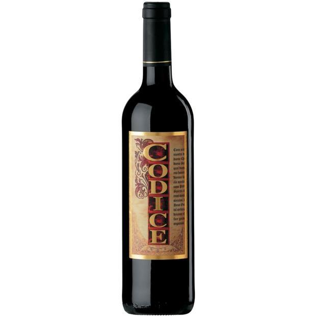 Codice 2016 Red Wine Spain 750ml