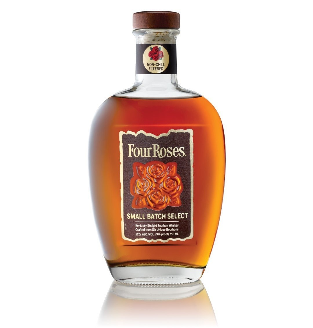 Four Roses Small Batch Select Kentucky Straight Bourbon Whiskey Crafted From 6 Unique Bourbons 104Pf. 750ml