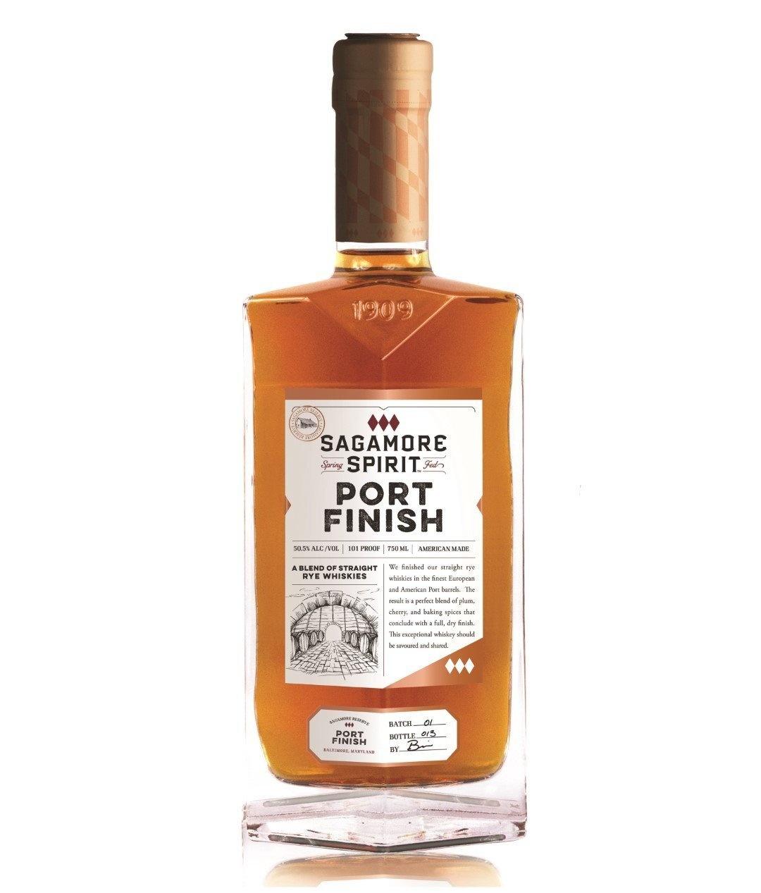 Sagamore Spirit Spring Fed Port Finish Blend Of Rye Whiskies 101Pf. 750ml