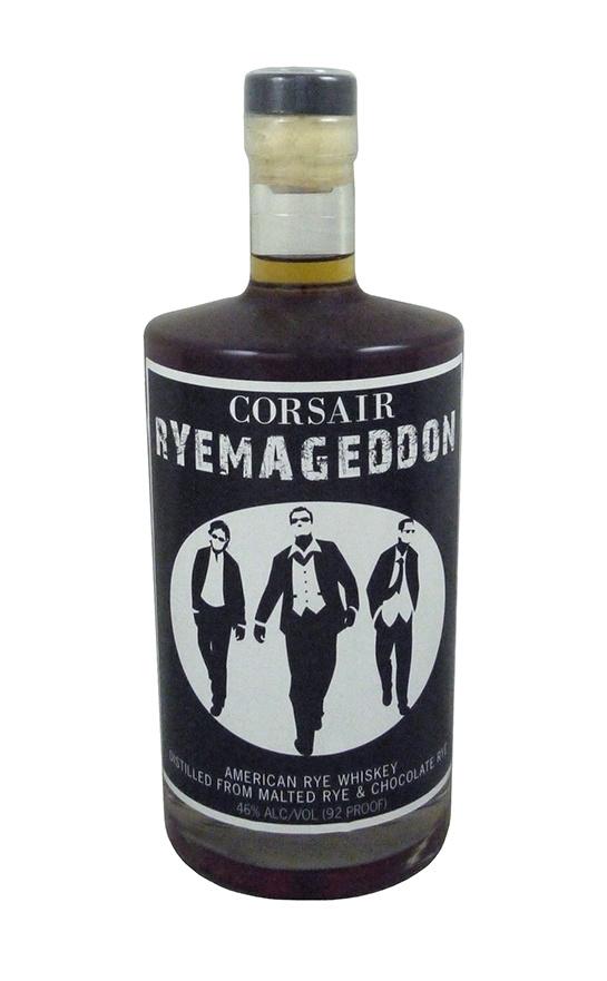 Corsair Ryemageddon American Rye Whiskey From Malted Rye & Chocolate Rye 92 Pf.