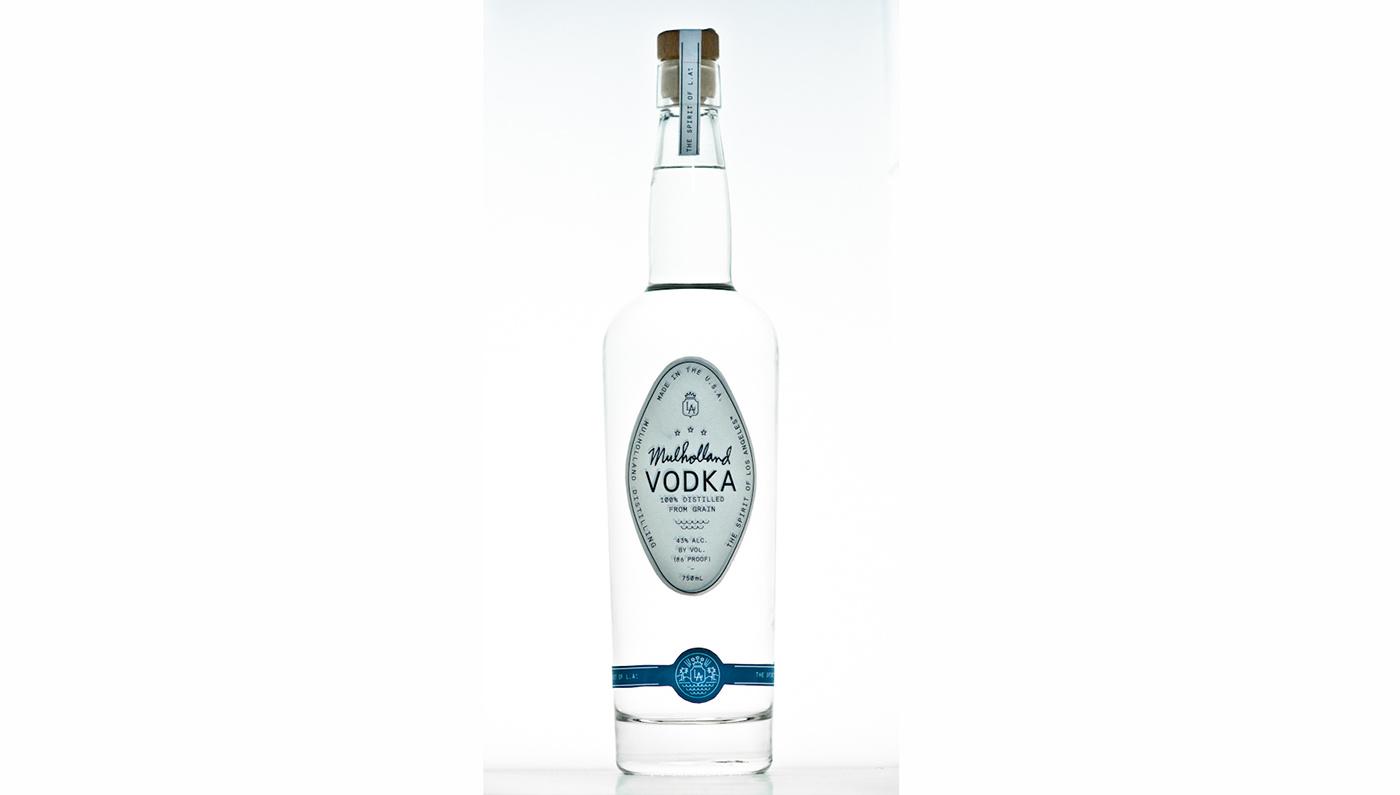 Mulholland Vodka Distilled From 100% Corn 86Pf. 750ml