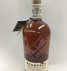 Bearface Triple Oak Canadian Whiskey 7Yrs. 85Pf. 750ml