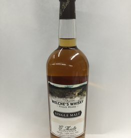 Welche's Whisky French Whiskey Single Malt 750ml