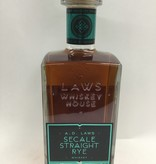 A. D. Laws Secale Straight Rye Whiskey Batch #10 95Pf. 750ml