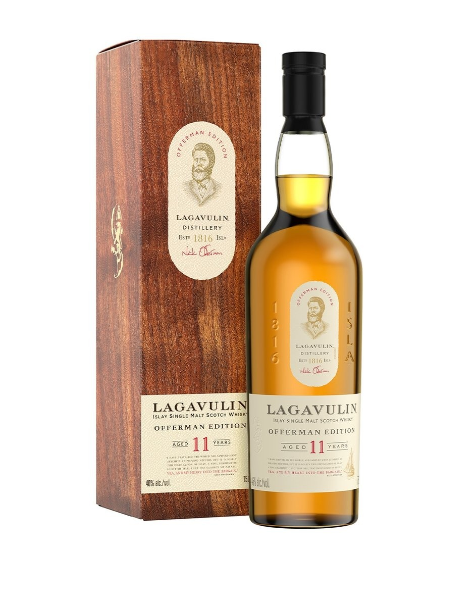 Lagavulin Islay Single Malt Scotch Whisky Offerman Edition 92Pf. 11yrs. 750ml