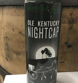 Golden Road & Peerless Kentucky Distilling Co. OLE KENTUCKY NIGHTCAP Barrel Aged Barley Wine Style Ale 19.2oz (1) Can