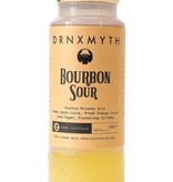 DRNXMYTH Bourbon Sour Bourbon Whiskey With Fresh Lemon Juice, Fresh Orange Juice, Cane Sugar, Blackstrap Bitters 200ml