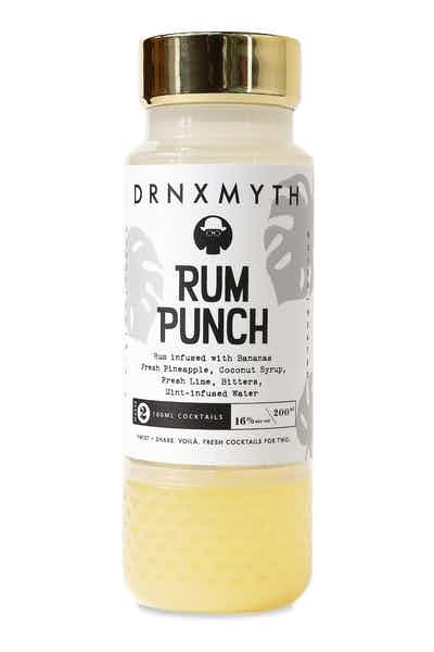 DRNXMYTH Rum Punch Rum Infused With Bananas Fresh Pineapple, Coconut Syrup, Fresh Lime, Tincture, Mint-Infused Water 200ml