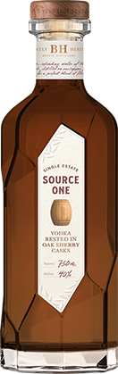 Source One Vodka Rested In Oak Sherry Casks 750ml