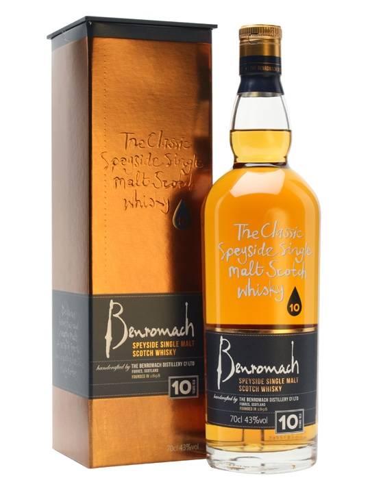 Benromach 10 Yr Scotch Whisky 750ml