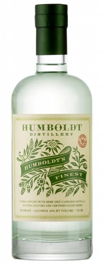 Humboldt Distillery Vodka Hemp Seed Infused 750ml