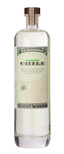St. George Green Chile Vodka 750ml