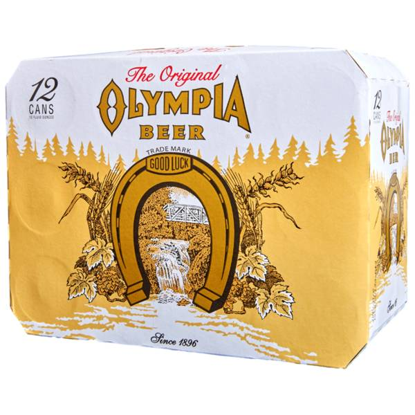 Olympia Beer 12oz 12Pk Cans