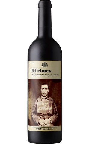 19 Crimes Shiraz 750ml Australia