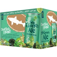DogFish Head Seaquench Ale Session Sour 12oz 6Pk Cans