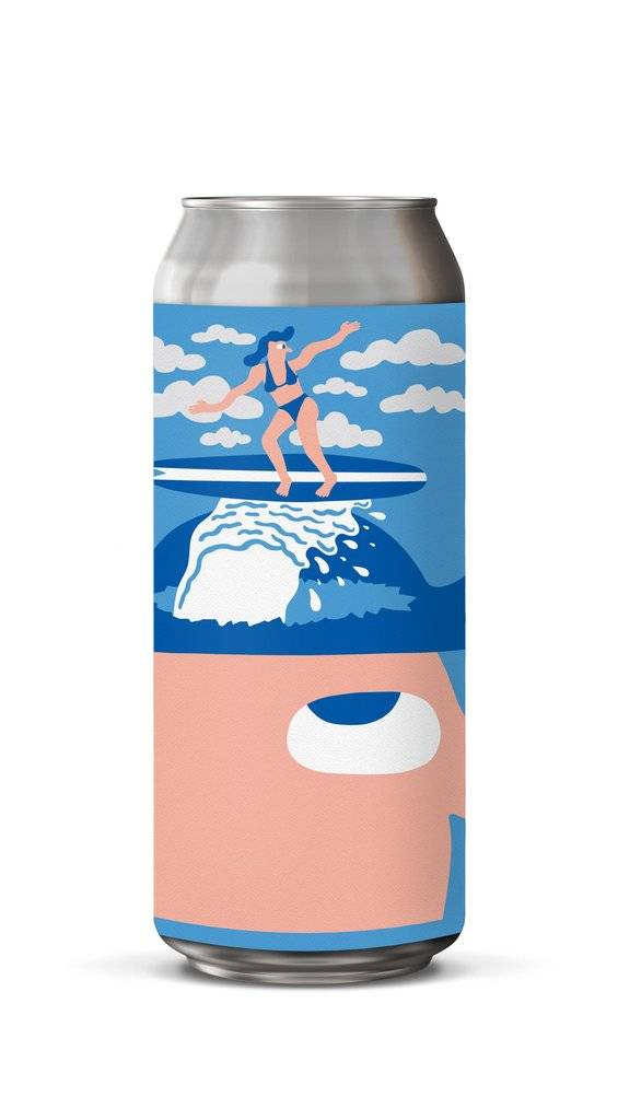 Mikkeller California Dream Hoppy Pilsner 16oz 4Pk Cans