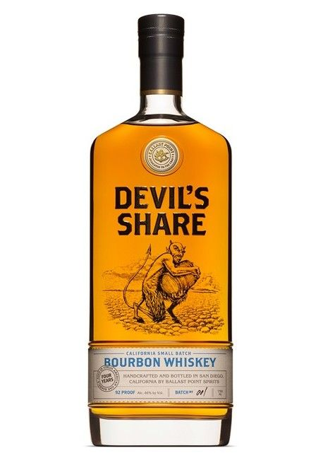 Cutwater Devil's Share Bourbon Whiskey 92Pf Batch No2 750ml