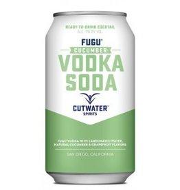 Cutwater Cucumber Vodka Soda 12oz Can