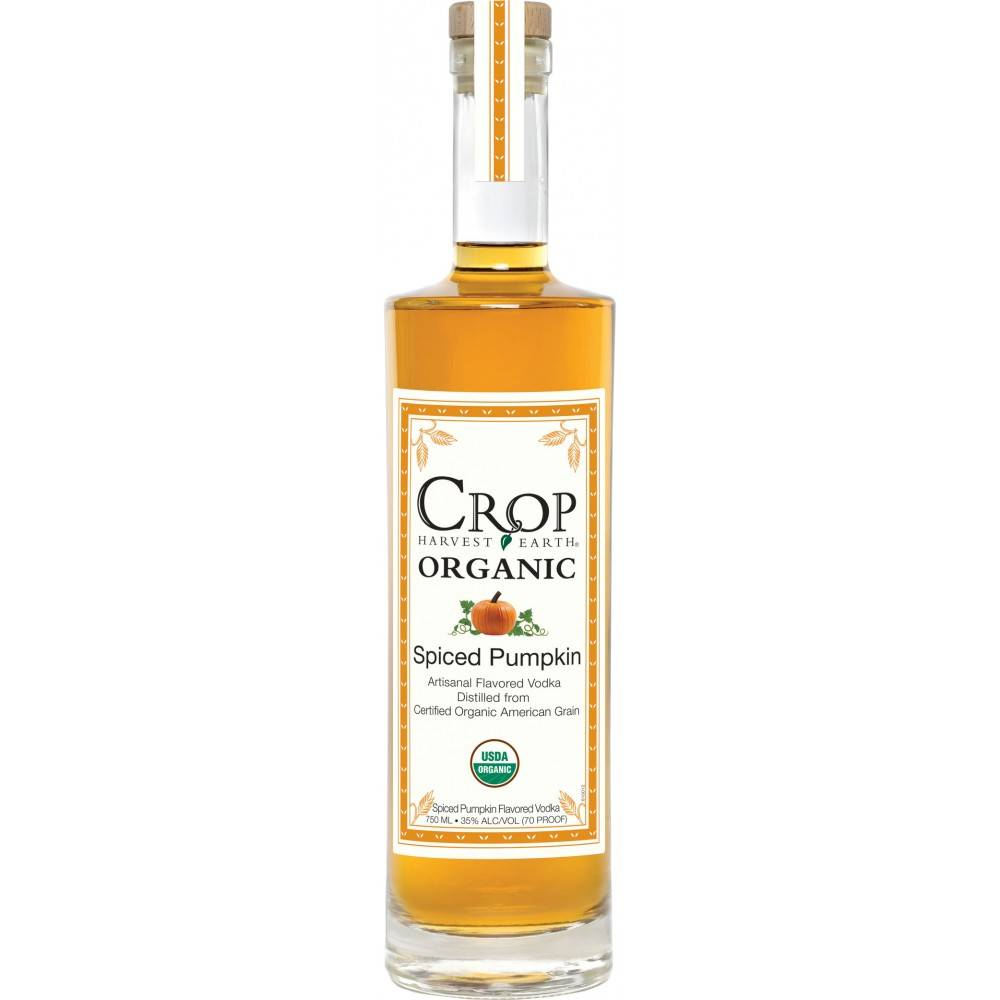 Crop Spiced Pumpkin Artisanal Flavored Vodka 750ml