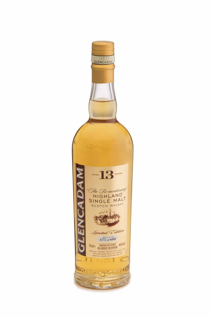 Glencadam 13Yr. Highland Single Malt Scotch Whiskey 750ml