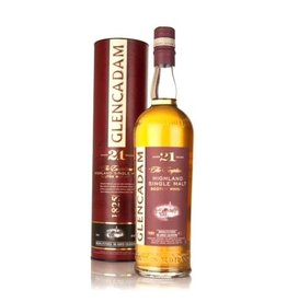 Glencadam 21Yr. Highland Single Malt Scotch Whiskey 750ml