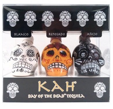 KAh Day Of The Dead Tequila 3Pk