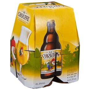Brasserie D'Achouffe La Chouffe Belgian Golden Ale 330ml 4Pk Btls