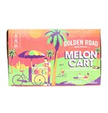 Golden Road Melon Cart Wheat Ale With Honeydew & Cantaloupe 12oz 6Pk Cans