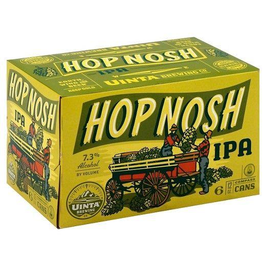 Uinta Hop Nosh IPA 12oz 6Pk Btls