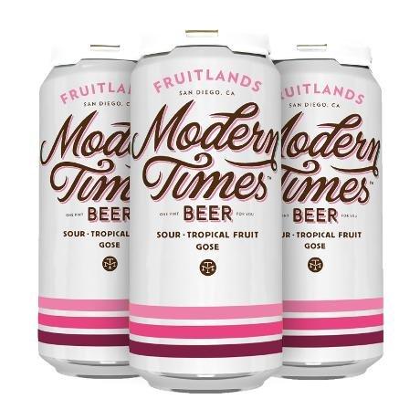 Modern Times Fruitlands Tropical Gose 16oz 4pk Cans